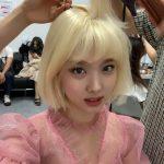 <トレンドブログ>「TWICE」ナヨン、金髪ヘアの妖精様..美貌がブリンブリン