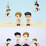 済州航空、東方神起のキャラクター企画商品販売…乗務員ユニホーム姿のユンホとチャンミンの人形販売