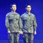 """「帰還」XIUMIN(EXO)、ミュージカル初挑戦 「""""先輩""""オンユのおかげでリラックスして練習」"""