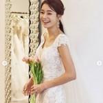 女優ファン・ジヒョン、ウエディングドレス姿を公開…10月に結婚予定