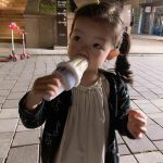 <トレンドブログ>イン・ギョジン♥ソ・イヒョン、2人の娘のアイスクリームの食べっぷりにパパにっこり
