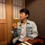 <トレンドブログ>ナムグン・ミン、ビアグラス片手にウィンク‥満面の笑み^^