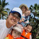 【トピック】ユン・サンヒョン&Maybee、仲むつまじい家族旅行写真が話題