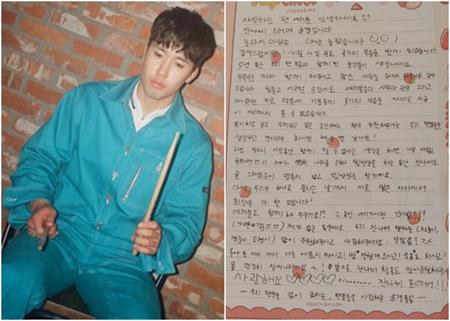 【全文】「JANNABI」のドラマーユンギョル、10月に軍入隊へ…自筆での手紙を公開