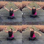 歌手PSY、「ずぶ濡れショー」映像と一緒に「ハッピー秋夕」…全身から噴き出す