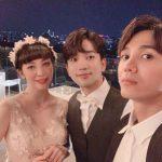 「MBLAQ」スンホ×ミル、G.O&チェ・イェスルの結婚式に出席