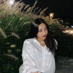 「Red Velvet」ジョイ、ススキを前に画報のような仕上がり