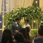 YouTuberドティ、G.O&チェ・イェスルのロマンチックな結婚式の様子を公開