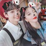 歌手イ・ジニョク(UP10TION)×女優ハン・イェスル…目の保養ツーショット公開!「お姉さんのサロン」