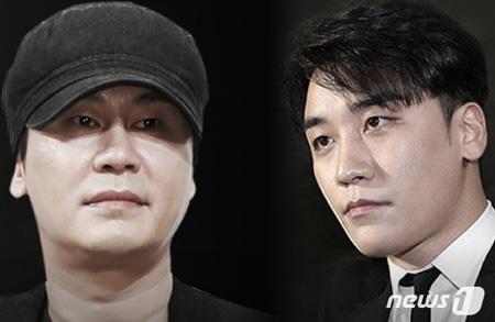 YGヤン・ヒョンソク元代表とV.I(元BIGBANG)の遠征賭博疑惑、調査終了と報道