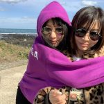 ファン・シネ母娘、済州島旅行を満喫…「芸術的な天気」