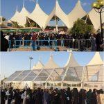 サウジアラビアのファンも防弾少年団の歌を大合唱…公演前から祭りの雰囲気