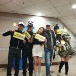 BoA、コンサートを応援に来たユ・ヘジン&ソン・ヒョンジュらと記念ショット