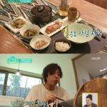 俳優チョン・イル、食後に冷麺。麺追加までする思いがけない大食漢