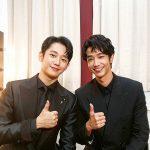 【トピック】チョン・ヘイン&リウ・イーハオ、韓台代表イケメンの2ショットが話題