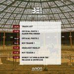 """<トレンドブログ>歌手チョンハの""""妹グループ""""「BVNDIT」、カムバックを前にタイムテーブルを公開!"""