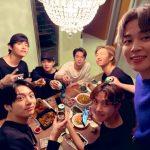 """防弾少年団(BTS)、ワールドツアー打ち上げ…""""アーミーのお陰でみんな一緒に笑ってる。愛してる"""""""