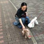【トピック】ク・ハラ(元KARA)、お散歩中のかわいらしい様子が話題