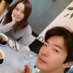 クォン・サンウの妻ソン・テヨン、夫婦デートの写真を公開…11年目でもラブラブ