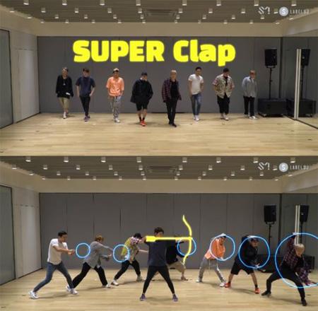 「SUPER JUNIOR」、新曲「SUPER Clap」振り付け映像が話題