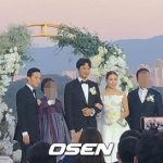除隊を控えたG-DRAGON(BIGBANG)も参列、実姉クォン・ダミと俳優キム・ミンジュンの結婚式の写真を入手