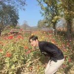 """<トレンドブログ>「SF9」ロウン、どれが花かわからない⁉..""""ハルの花が咲きました"""""""