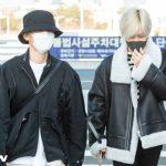 「PHOTO@仁川」SuperM、テミン×カイ×BAEKHYUN、朝からスタイリッシュな空港ファッションで出発!