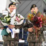 "「PHOTO@龍仁」SOL&D-LITE(BIGBANG)本日(10日)除隊!""多くのファンに迎えられ、感動の笑顔"""