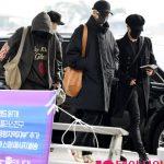 「PHOTO@仁川」防弾少年団(BTS)、オールブラックの冬の装い…フィンランドに出発