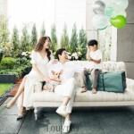 キム・ヒョジン×ユ・ジテ夫婦、インスタに2人の息子や愛犬との幸せいっぱいの家族写真を公開
