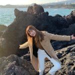 <トレンドブログ>女優ハ・ヨンス、済州島旅行の日常を公開…ラブリーな魅力爆発☆
