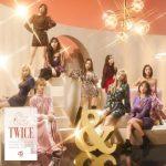 TWICE、日本ニューアルバム「&TWICE」がオリコンデイリーアルバムチャートで1位に
