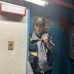 ソユ、警察の廊下でパチリ…「垢抜けて光り出して」リアルタイムでの視聴を促す