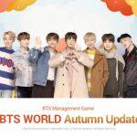 『BTS WORLD』秋を楽しむアップデート実施!新イベントステージやカードを含む新要素が複数登場