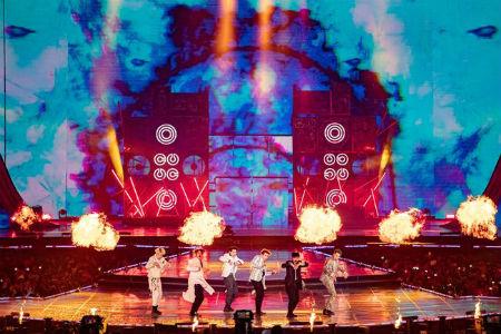 「MONSTA X」、「V HEARTBEAT」で2冠獲得「モンベベ、愛してる」