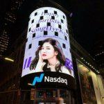 """<トレンドブログ>ソン・ヘギョ、ニューヨーク・タイムズスクエアに誕生日の広告が登場…""""グローバル人気""""を立証"""