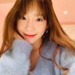"""<トレンドブログ> 「少女時代」テヨン、清純美いっぱいなすっぴんセルフィー公開""""テング女神♥"""""""