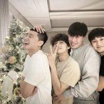 """俳優パク・ソジュン、防弾少年団(BTS)V、Peakboy、チェ・ウシクとの仲の良すぎる写真公開…""""メリークリスマス"""""""