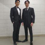 オク・テギョン(2PM)&ソ・ジソブ、嬉しいツーショット…モデル顔負けの貫禄