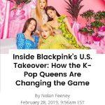 「BLACKPINK」、米ビルボード「2019ベストフォトグラフィー」100人に選出