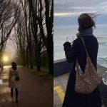 女優ソン・ヘギョ、後ろ姿も美しい…ポルトガルで余裕を満喫