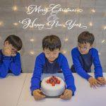 """俳優ソン・イルグク、大きくなった三つ子の息子たちの近況公開…""""メリークリスマス"""""""