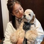 <トレンドブログ>「BLACKPINK」ジェニー、子犬を抱いてあどけない笑顔…飾らない姿も自己発光☆