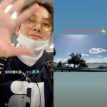 俳優チ・チャンウク、マイアミのビーチから「メリークリスマス」