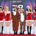 「PHOTO@ソウル」TWICE、今日はキュートなサンタで…「2019 SBS歌謡大典」のフォトウォールイベントに登場