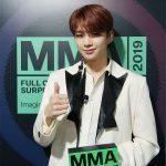 カン・ダニエル、ソロデビュー以来4つめのトロフィー…「MMA 2019」でも花道