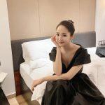 <トレンドブログ>パク・ミニョン、思わず感嘆するブラックドレス姿..息詰まる優雅な美貌