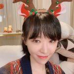 """<トレンドブログ>「Brown Eyed Girls」ガイン、可愛らしいトナカイのカチューシャで""""ミリーメリークリスマス""""!"""