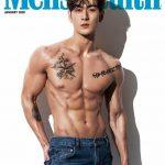 """<トレンドブログ>「NU'EST」ベクホ""""筋肉に感嘆""""…「Men's Health」新年号カバーを装飾!!"""