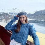 <トレンドブログ>  ジェシカ、ラブリーさ1スプーン..雪原の上の花美貌
